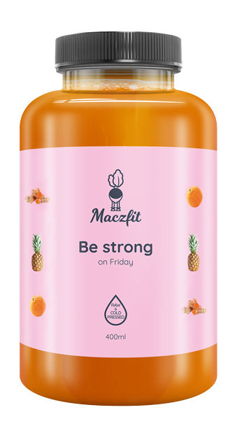 Be strong on Friday